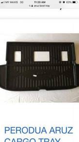 Perodua aruz boot tray cargo tray