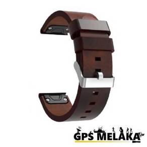QuickFit Leather Band Strap Garmin Fenix 5 (22mm)