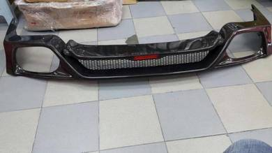 R35 Facelift Rear Lip Carbon Fiber Nissan GTR35
