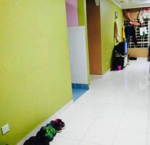 Bilik medium sharing (MALE) melur apartment lrt sentul timur
