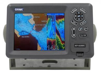 Onwa KP-6299C GPS Chartplotter & Sonar Fishfinder