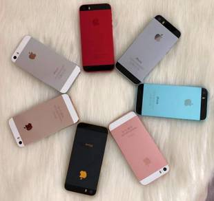 IPhone 5S 6 colours Original USA Set Harga Borong