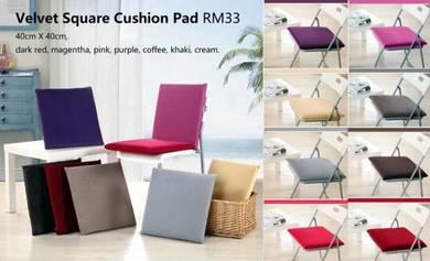 Velvet Square Cushion Pad