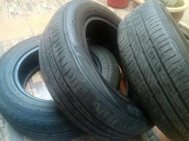 3Pcs tyre continental second