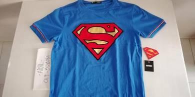 Baju Superman T-Shirt Authentic DC Comics Size M