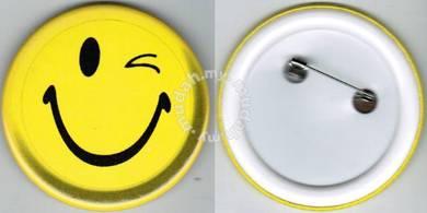 Smiley Happy face #29 Cartoon Button Badge 58mm