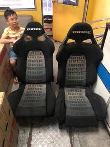 Bride Cuga semi-bucket lightweight seats (2 units)