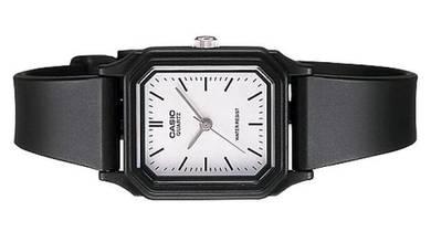 Casio Lady Classic Square Rubber Watch LQ-142-7EDF