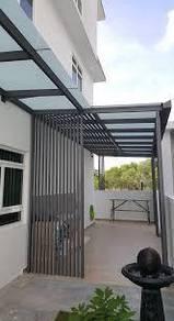 Steel Aluminium Composite Pergola Awning Klang