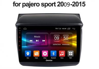 Mitsubishi Pajero Sport 4gb android 10 car palyer