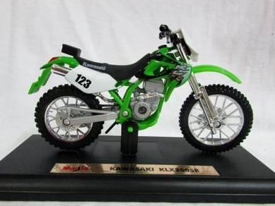 Maisto 1/18 Motorcycle Kawasaki KLX 250SR # 123