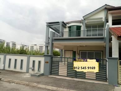 Freehold, Double Storey House, Corner Lot Klebang , Ipoh, Perak