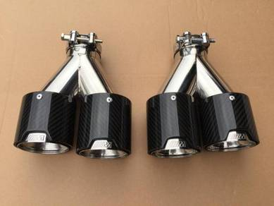 BMW m Carbon fiber tail pipe M5 bodykit M tech