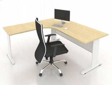 6ft L Shaped Manager Table JL1818 damansara sunway