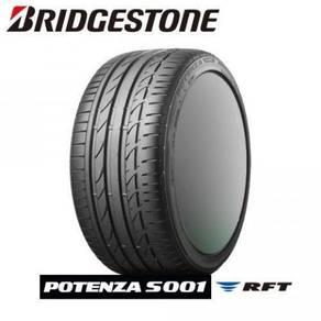 Bridgestone potenza s001 rft 225/45/18 new tyre