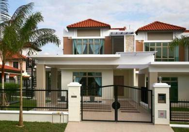 Rumah Terrace Free Hold 2-Storey 0%D/p ,eNSTEK,nILAI