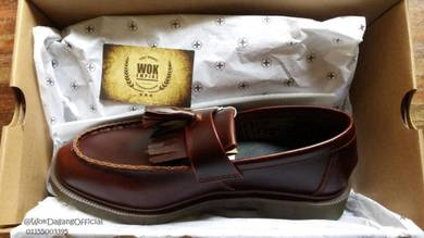 Dr martens tassel loafer maroon original