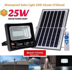 Solar Floodlight 25W Outdoor Flood Lights IP67 Flo