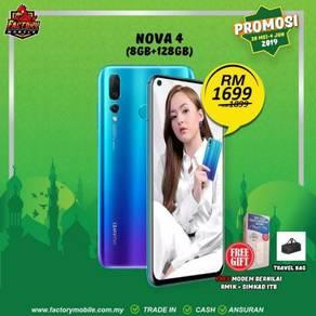 PROMOSI> Huawei nova 4 [ 8+128gb ] Msia set