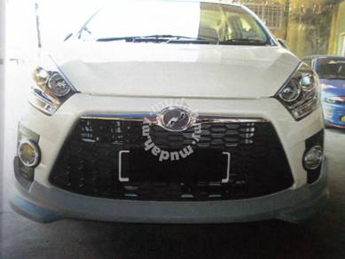 Perodua axia se pu bodykit without paint