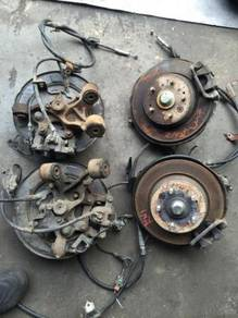 Honda Rear Brake Disc set for rn1stream civic es3