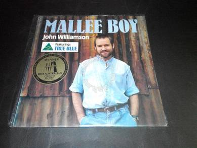JOHN WILLIAMSON - MALLEE BOY LP Record