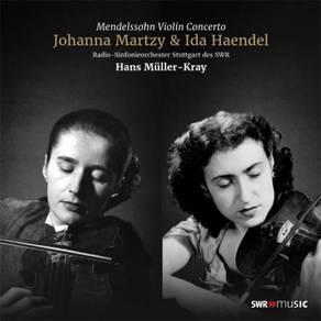 Johanna Martzy & Ida Haendel Mendelssohn Violin