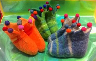 Cutie Kid Woolen Shoes Kasut Baby Bulu Kambing