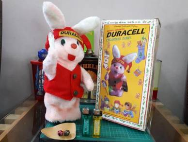 DURACELL CHRISTMAS BUNNY Vintage 1997