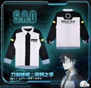 SAO ordinal scale kirito cosplay sweater coat