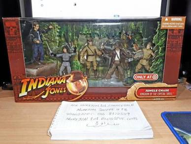 INDIANA JONES Jungle Chase 2008 Movie