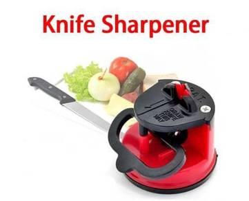Knife sharpener merah