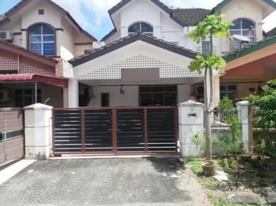 Rumah sewa double storey Seri Alam Masai 4 bilik low booking fee