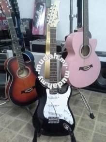 Gitar Elektrik Akustik(Black, Blueburst, Sunburst)