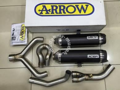 Arrow Twin Slip On For Aprillia Shiver 750