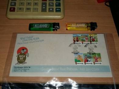 First Day Cover Issue PERSIDANGAN PATA 1986