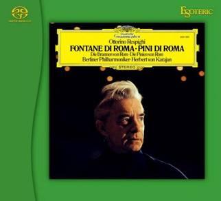 Herbert Von Karajan Respighi Fontane di Roma,