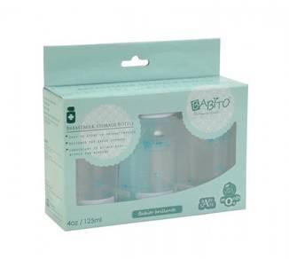 Babito Breast Milk Storage Bottle 3in1 Set BPAFree