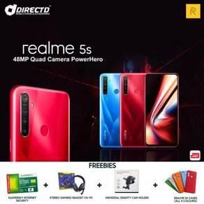 Realme 5S (5K BATT/4GB RAM/4 KAMERA BLKG 48MP)ORI