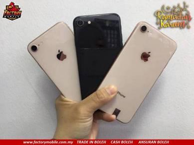 PROMOSI> Apple Iphone 8 64/256gb + gift