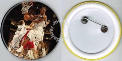 NBA Basketball Player #4 Button Badge 58mm