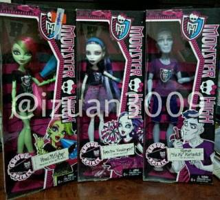 Monster High Ghoul Spirit dolls