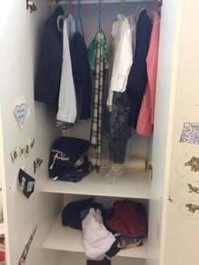 Wardrobe 4 Pintu