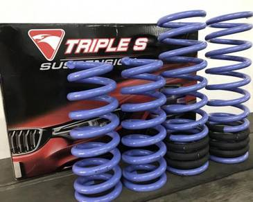 Triple S Lowering Springs Set for Toyota Fortuner