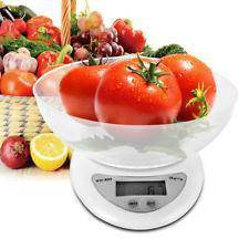 Electronic Kitchen Scale With Bowl 7kg