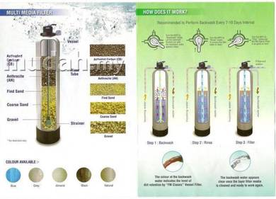Outdoor water filter/penapis air utama