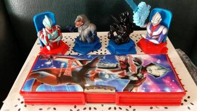 VINTAGE PenciL BoX Ultraman Olskool