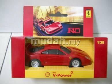 Shell Ferrari F40 scale model car