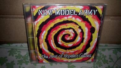 CD New Model Army - The Love of Hopeless Causes