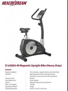 Heavy Duty 6380 magnetic bike